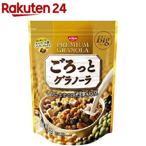 ごろっとグラノーラ きなこ仕立ての充実大豆(500g)【イチオシ】