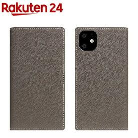 SLG Design iPhone 11 Full Grain Leather Case エトフクリーム SD17912i61R(1個)【SLG Design(エスエルジーデザイン)】