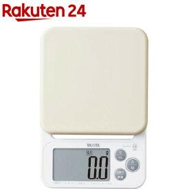 タニタ デジタルクッキングスケール ホワイト KJ-212-WH(1台)【タニタ(TANITA)】
