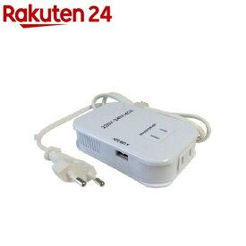 海外用 薄型2口変圧器 USB 220-240V/40VA NTI-112(1台)