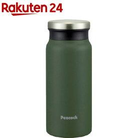 ピーコック ステンレスボトル マグ AMZ-40 K カーキ 0.4L(1コ入)【ピーコック(Peacock)】[水筒]