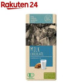 第3世界ショップ ミルクチョコレート(100g)【spts4】【第3世界ショップ】[おやつ お菓子]