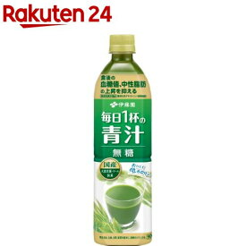 伊藤園 毎日1杯の青汁 無糖 PET(900g*12本入)【毎日1杯の青汁】
