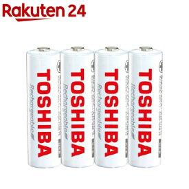 東芝 充電池 単3形 4本パック TNH-3ME(WB)(4本入)