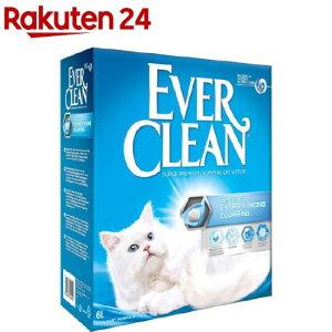 エバークリーン 猫用トイレ砂 無香タイプ(6L)【エバークリーン】