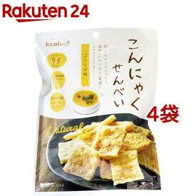 カルイット こんにゃくせんべい コンソメ味(15g*4袋セット)【kcaleat(カルイット)】