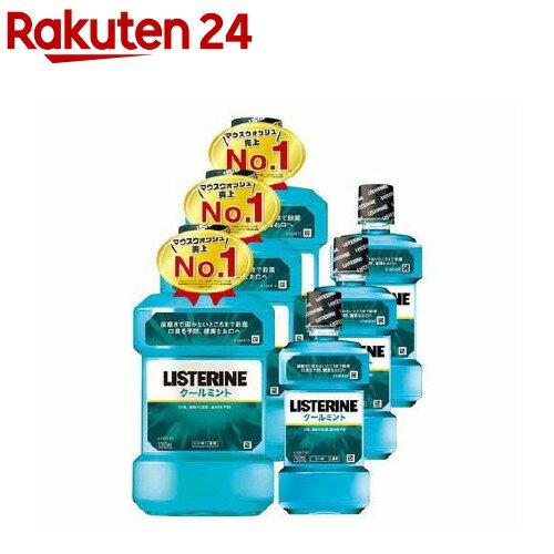薬用リステリン クールミント 増量セット(1L+250mL*3コセット)【LISTERINE(リステリン)】