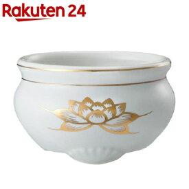 香炉 ミニ陶器白磁(1コ入)【日本香堂】