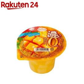 濃いマンゴーゼリー 0kcaL(195g*6コ入)【spts4】【たらみ】