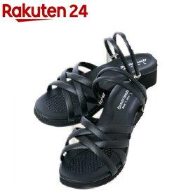 昭光プラスチック製品 O脚対策 美脚クロスバンドサンダル Lサイズ 8099922(1足)