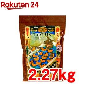 ロータス グレインフリー ダックレシピ 小粒(2.27kg)【ロータス】[ドッグフード]