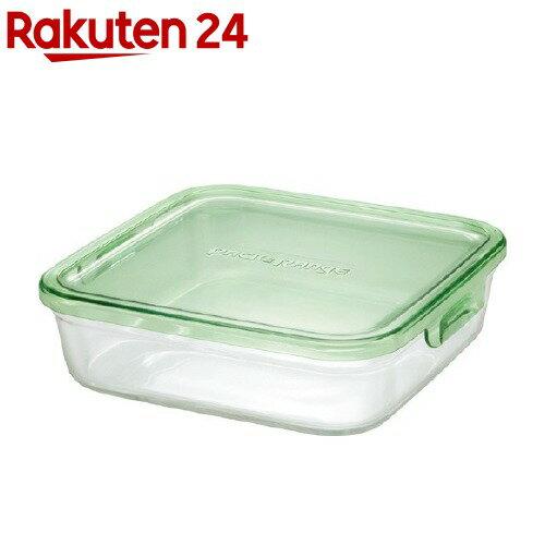 イワキ パック&レンジ グリーン 角型 1.2L K3248N-G(1コ入)【イワキ(iwaki)】
