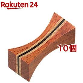 木製箸置 つづみ(10個セット)