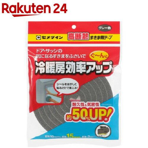 セメダイン 高断熱すきま用テープグレー TP-522 10*15*2(1コ入)【セメダイン】