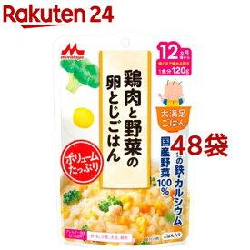 大満足ごはん 鶏肉と野菜の卵とじごはん G18(120g*48袋セット)【大満足ごはん】