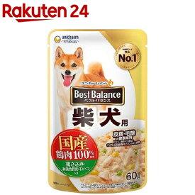 ベストバランス 柴犬用 鶏ささみ・緑黄色野菜・キャベツ入り(60g)【1909_pf02】【qw7】【ベストバランス】[ドッグフード]