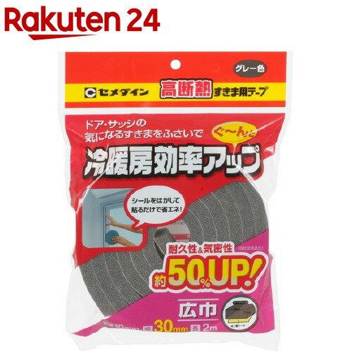 セメダイン 高断熱すきま用テープグレー TP-523 10*30*2(1コ入)【セメダイン】