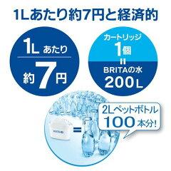 ブリタファンブルーマクストラプラスカートリッジ1個付き(日本仕様・日本正規品)