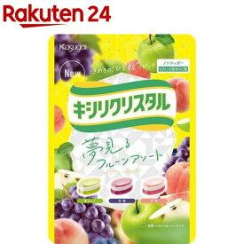キシリクリスタル フルーツアソートのど飴(67g)【キシリクリスタル】
