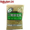有機米 籾発芽玄米 芽吹き小町(あきたこまち)(2kg)【org_3】