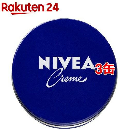 ニベアクリーム 青缶 大缶(169g*3コセット)【k3q】【ニベア】