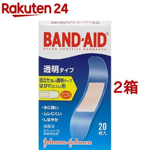 バンドエイド 透明タイプ(20枚入*2コセット)【バンドエイド(BAND-AID)】