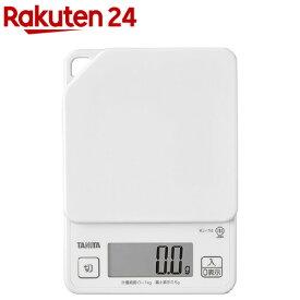 タニタ デジタルクッキングスケール KJ-114 ホワイト(1コ入)【タニタ(TANITA)】
