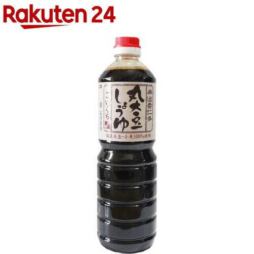 森田醤油 国産丸大豆醤油こいくち(1000mL)【森田醤油】