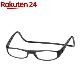 老眼鏡クリックユーロ(cLic euro) マットブラック +2.5(1コ入)