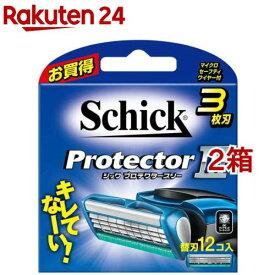 シック プロテクタースリー 替刃(12コ入*2箱セット)【シック】