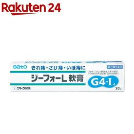 【第(2)類医薬品】ジーフォーL軟膏(20g)【ジーフォー】