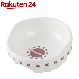 キャティーマン 便利なクローバー陶製食器 ミニ(1コ入)【キャティーマン】