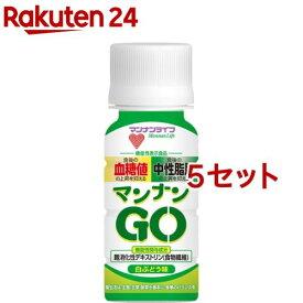 蒟蒻畑 マンナンGO 白ぶどう味(50ml*6本入*5セット)【蒟蒻畑】
