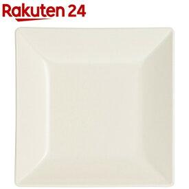 角皿 クリーンコート加工 ホワイト S(1枚入)