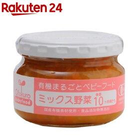 ミックス野菜(100g)【イチオシ】【有機まるごとベビーフード】