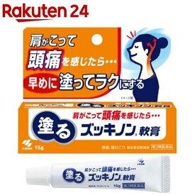 【第3類医薬品】塗るズッキノン軟膏(15g)【KENPO_11】【ズッキノン】