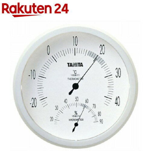 タニタ温湿度計NホワイトTT-492-WH