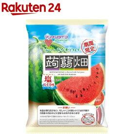 蒟蒻畑 塩スイカ味(12個*12袋入)【蒟蒻畑】