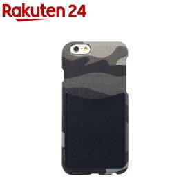 ハンスマレ iPhone6s/6 レザーポケットバー カモ ネイビー HAN7324i6S(1コ入)【ハンスマレ(HANSMARE)】