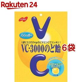 ノーベル製菓 VC-3000のど飴(90g*6コ)