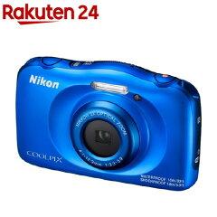 ニコンデジタルカメラクールピクスW100ブルー