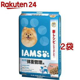 アイムス 成犬用 体重管理用 ラム&ライス 小粒(12kg*2袋セット)【dqa】【アイムス】