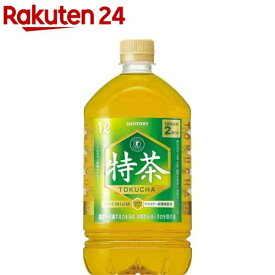 サントリー 伊右衛門 特茶 特定保健用食品(1L*12本入)【イチオシ】【特茶】