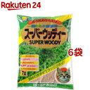 猫砂 スーパーウッディー(7L*6コセット)