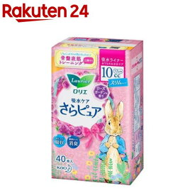 ロリエ さらピュア スリムタイプ 10cc ローズガーデンの香り(40枚入)【ロリエ】