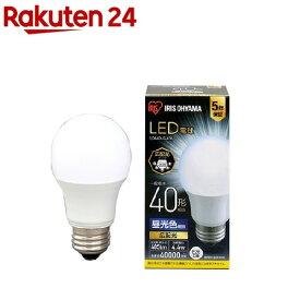 アイリスオーヤマ LED電球 E26 広配光 昼光色 40形 485lm LDA4D-G-4T6(1個)【アイリスオーヤマ】