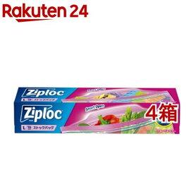 ジップロック ストックバッグ L(16枚入*4箱セット)【Ziploc(ジップロック)】