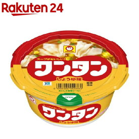 マルちゃん ワンタン しょうゆ味 ケース(32g*12個入)【マルちゃん】