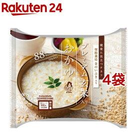 おくさま印 プレミアム玄米入りおかゆ(250g*4袋セット)【おくさま印】