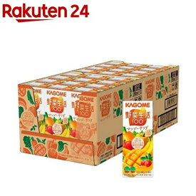 野菜生活100 マンゴーサラダ(200mL*24本入)【野菜生活】